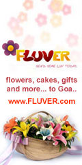 FLUVER - flowers, cakes, gifts to Goa