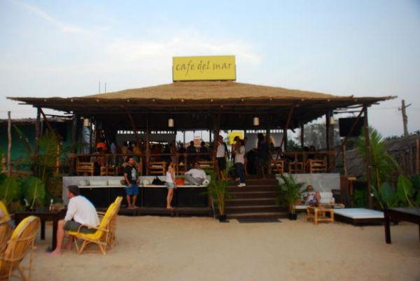 Cafe Del Mar Hening Goa Restaurants Shacks